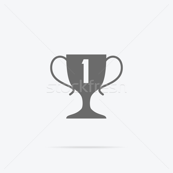 Winner Concept Goblet Design Flat Stock photo © robuart