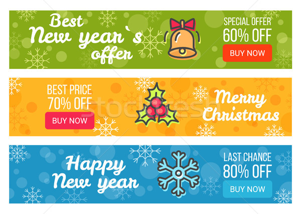 Colorful Sale Cards Last Chance Buy Now Best Price Stock photo © robuart