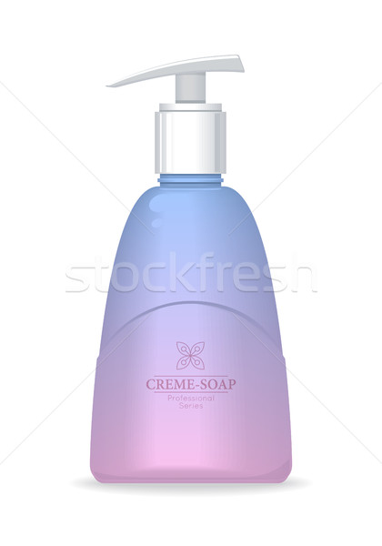 Soap Bottle with Spreader. Cosmetic Product Stock photo © robuart