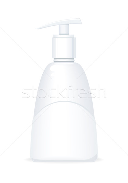 Pumper Dispenser of Shampoo or Soap Stock photo © robuart