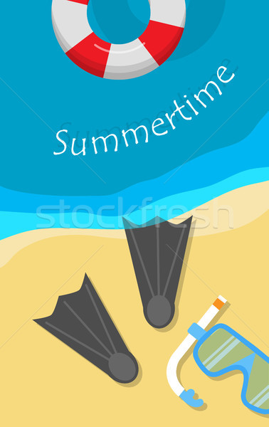Summertime Banner Stock photo © robuart