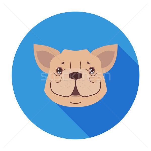 Cute psa kaganiec cartoon wektora ikona Zdjęcia stock © robuart