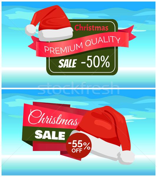 Prima calidad mitad precio Navidad venta Foto stock © robuart