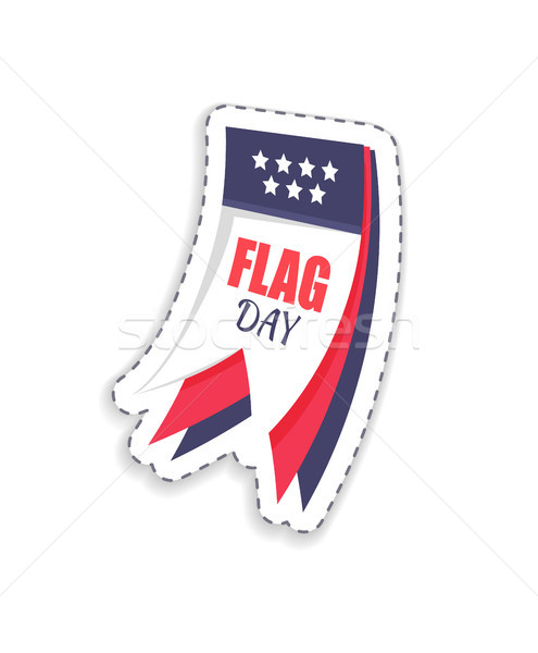 Vlag dag titel kalender heilig datum Stockfoto © robuart