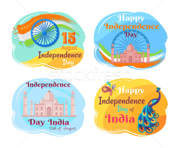 Independence Day of India Vector Illustration Stock photo © robuart
