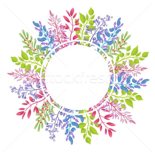 Grande coroa aromático ervas pequeno Foto stock © robuart