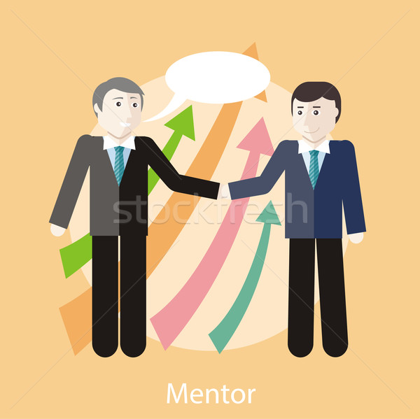 Mentor Concept Stock photo © robuart