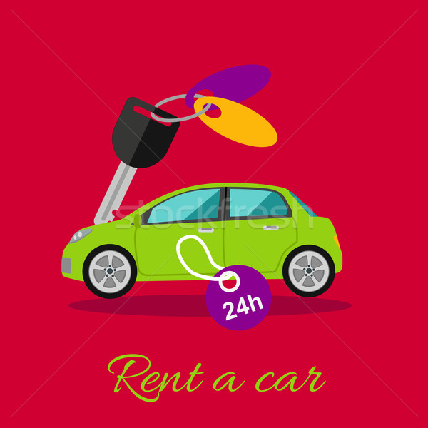 Rent a Car Stock photo © robuart