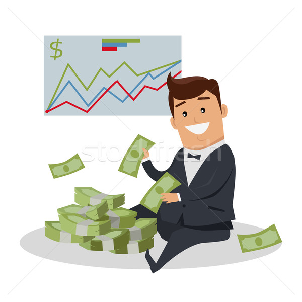 Business Success Concept Illustration. Stock photo © robuart