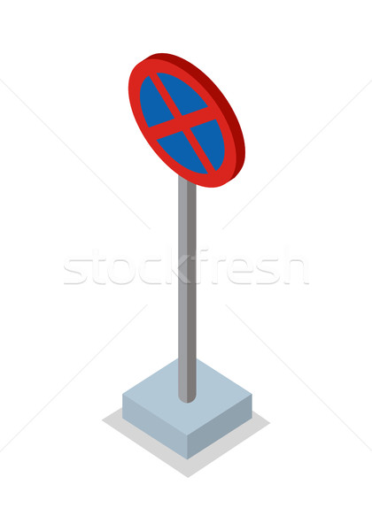 No Stopping - Traffic Sign Stock photo © robuart