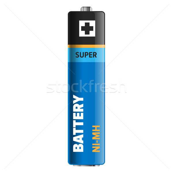 Super Powerful and Compact Battery Illustration Stock photo © robuart