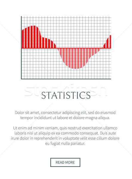 статистика страница текста образец кнопки Сток-фото © robuart