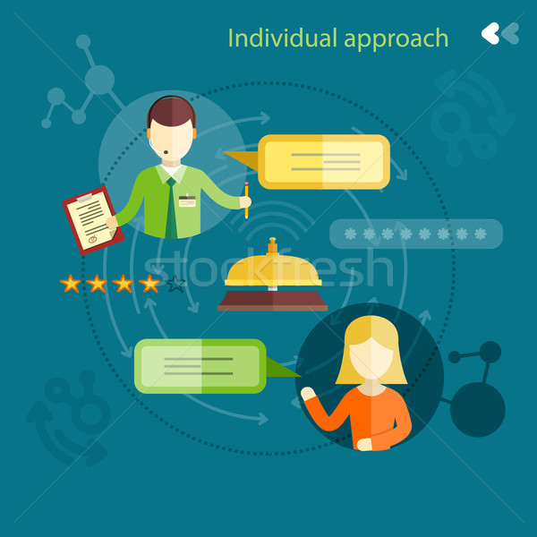 Individual approach ranking Stock photo © robuart