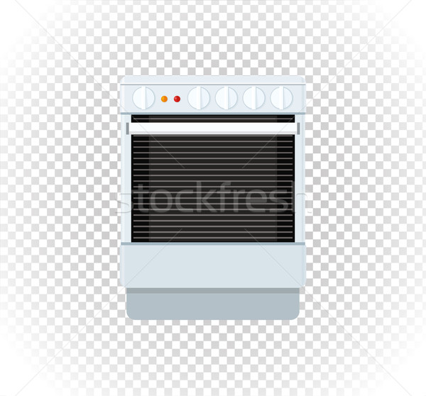 Sale of Household Appliances Gas Stove Stock photo © robuart