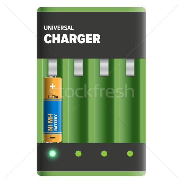 Powerful Universal Charger Isolated Illustration Stock photo © robuart