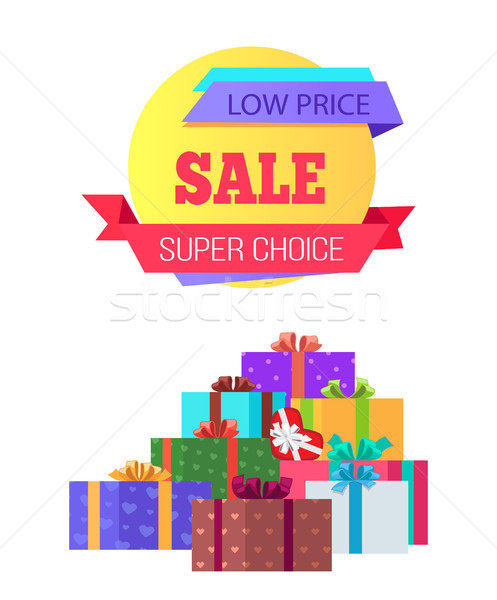 Low Cost Super Choice Sale Special Exclusive Offer Stock photo © robuart