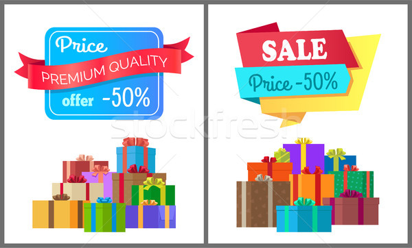 Premium Quality Price Offer Special Exclusive Sale Stock photo © robuart