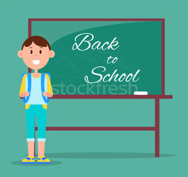 Back to School Multicolored Vector Illustration Stock photo © robuart