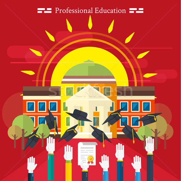 Education, online education, professional education Stock photo © robuart