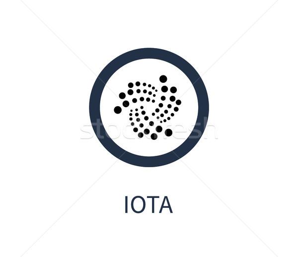 Icon titel symbool digitale teken Stockfoto © robuart