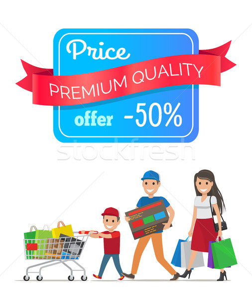 Price Premium Quality Offer Low Cost Special Offer Stock photo © robuart