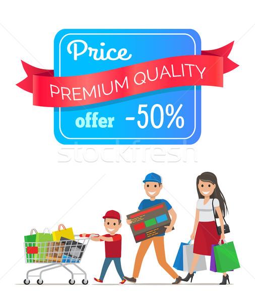 価格 プレミアム 品質 提供 ストックフォト © robuart