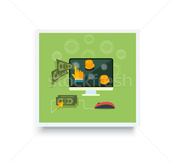 Stock photo: Pay Per Click Poster