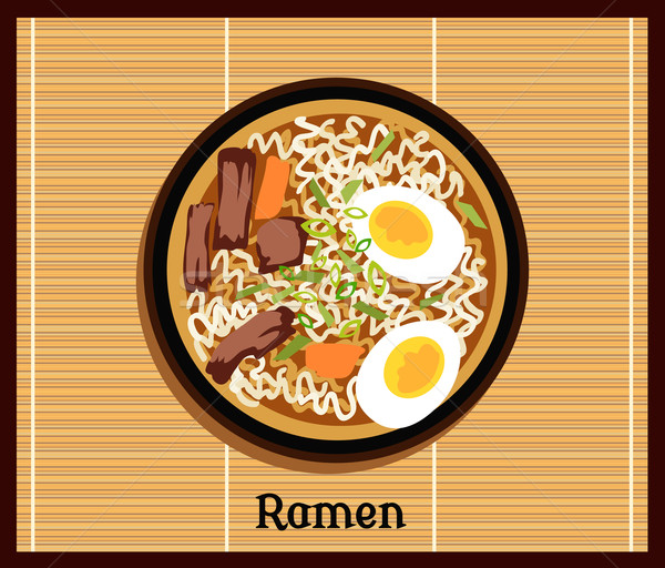 Japanese Ramen Concept Stock photo © robuart