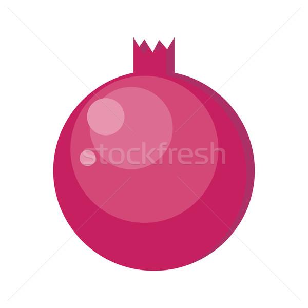 Pomegranates Vector Illustration in Flat Design. Stock photo © robuart