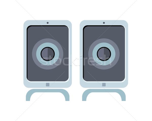 Illustration of Computer Speakers Stock photo © robuart