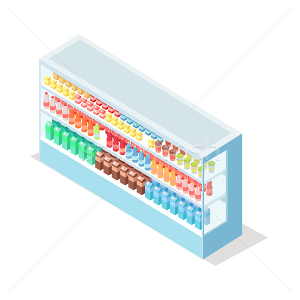 молочный продовольствие изометрический вектора Сток-фото © robuart