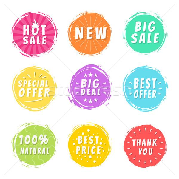 горячей продажи новых дело специальное предложение рекламный Сток-фото © robuart