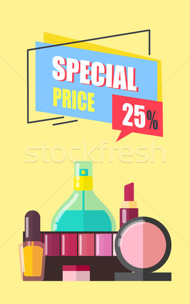 Special Price 25 Percent Off Vector Illustration Stock photo © robuart