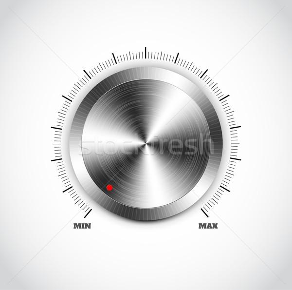 現実的な 金属 ボタン コンピュータ インターネット ストックフォト © robuart