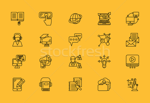 Information Transmission in E-learning  Stock photo © robuart