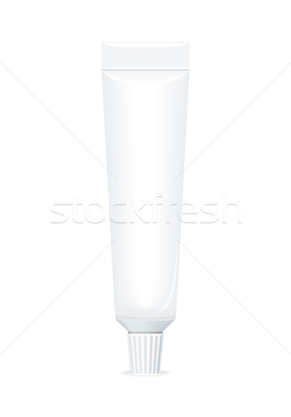 Cosmetische witte buis tandpasta cosmetica product Stockfoto © robuart