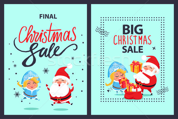 Noël finale vente vacances réduction Photo stock © robuart
