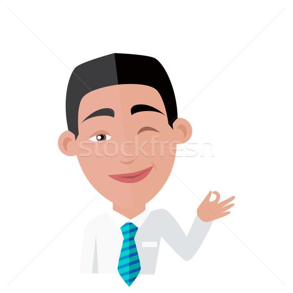 Emotion Avatar Man Happy Success Stock photo © robuart