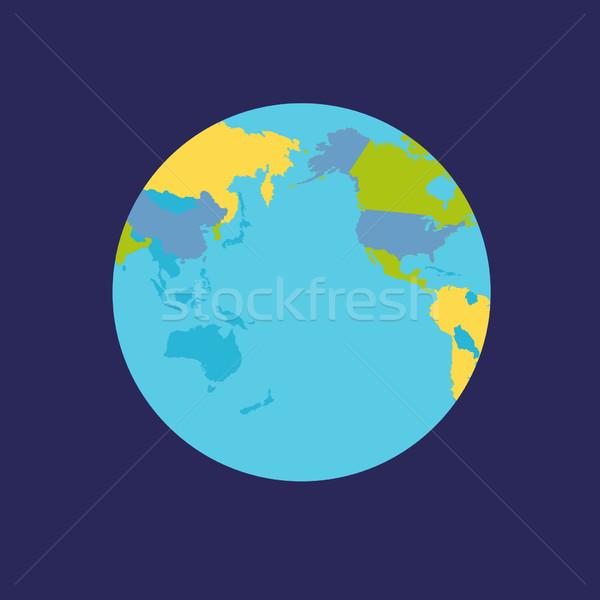 Сток-фото: планете · Земля · Мир · мира · политический · карта