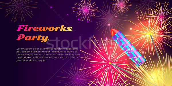 Foto stock: Colorido · brilhante · conjunto · banners · desenho · animado