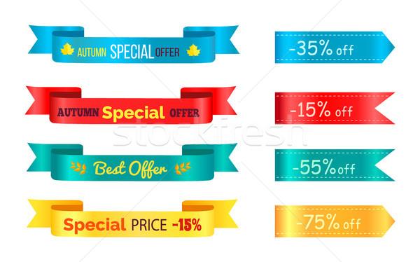 Best Sale 2017 Autumn Discount Buy Now Hot Price Stock photo © robuart
