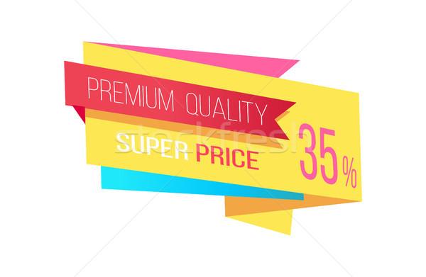 Super prezzo premio qualità promozione colore Foto d'archivio © robuart