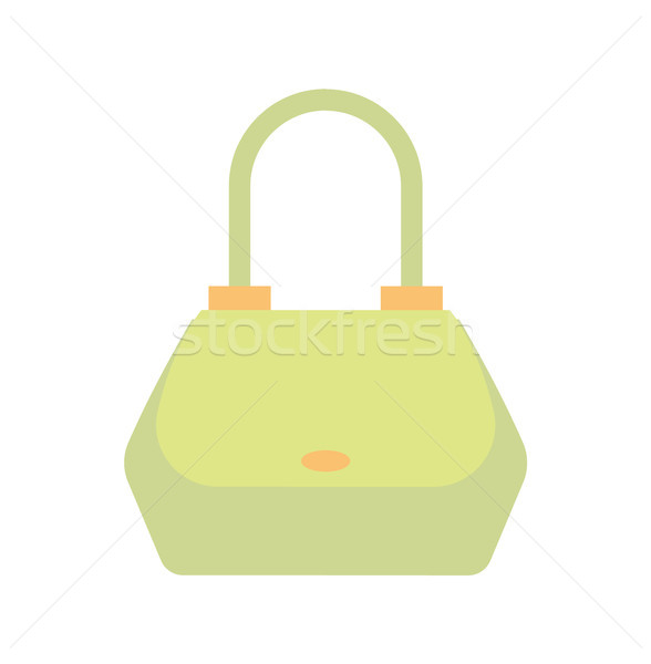 Femenino bolso verde color bolsa manejar Foto stock © robuart