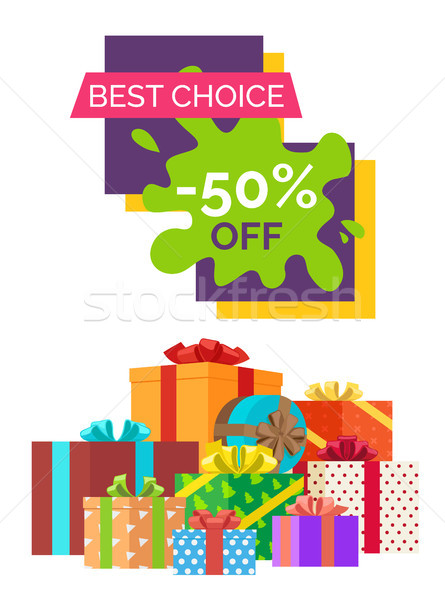 Best Choice Half Price Off Discount Clearance Stock photo © robuart