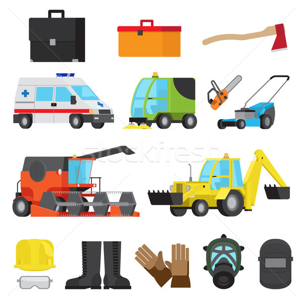 Working Equipment, Protective Accessory, Transport Stock photo © robuart