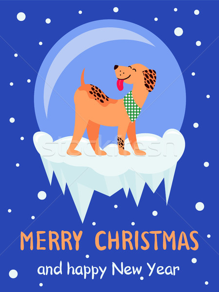 Merry Christmas and Happy New Year 2018 Symbol Stock photo © robuart