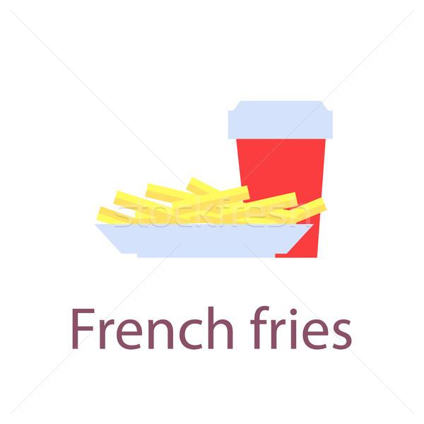 Stockfoto: Poster · opschrift · voedsel · plaat