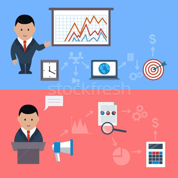 商務會議 介紹 設計 商人 發展 商業照片 © robuart