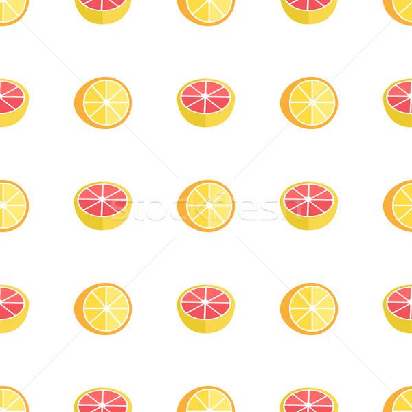Naranjas aislado blanco exótico Foto stock © robuart