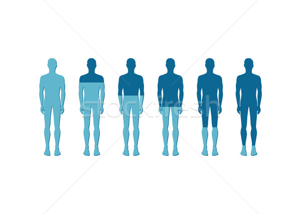 Human Quantitative Rate Icon Vector Illustration Stock photo © robuart